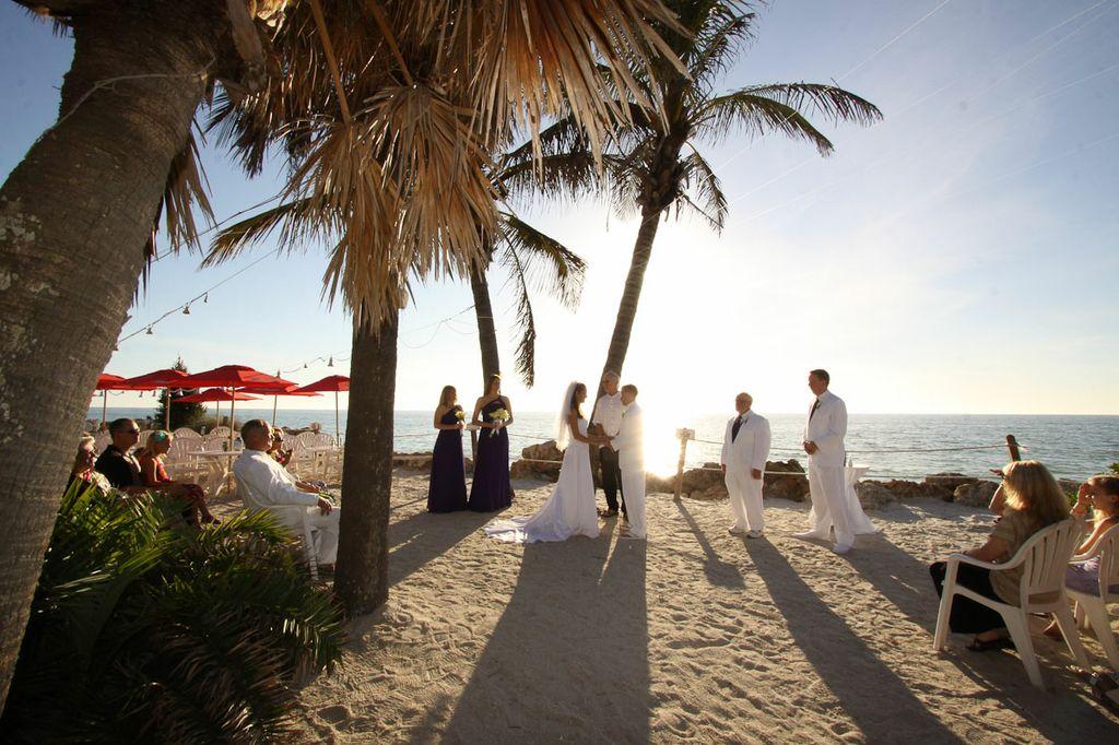 Beachhouse Bradenton Beach Wedding Tampa Bay Wedding