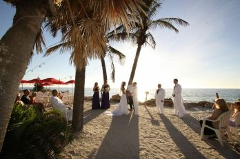 wedding, beach wedding, sunset, the beachhouse, sarasota fl