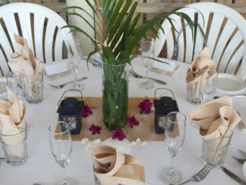 beach wedding, purple wedding, outside, sarasota, the beachhouse restaurant