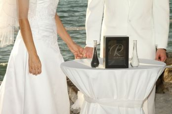 beach wedding, sunset, sarasota, the beachhouse restaurant