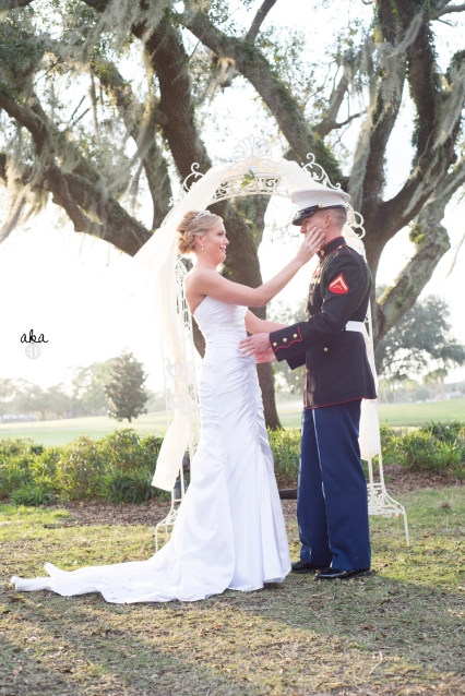 palm aire country club, sarasota, military wedding, florida, winter weddings
