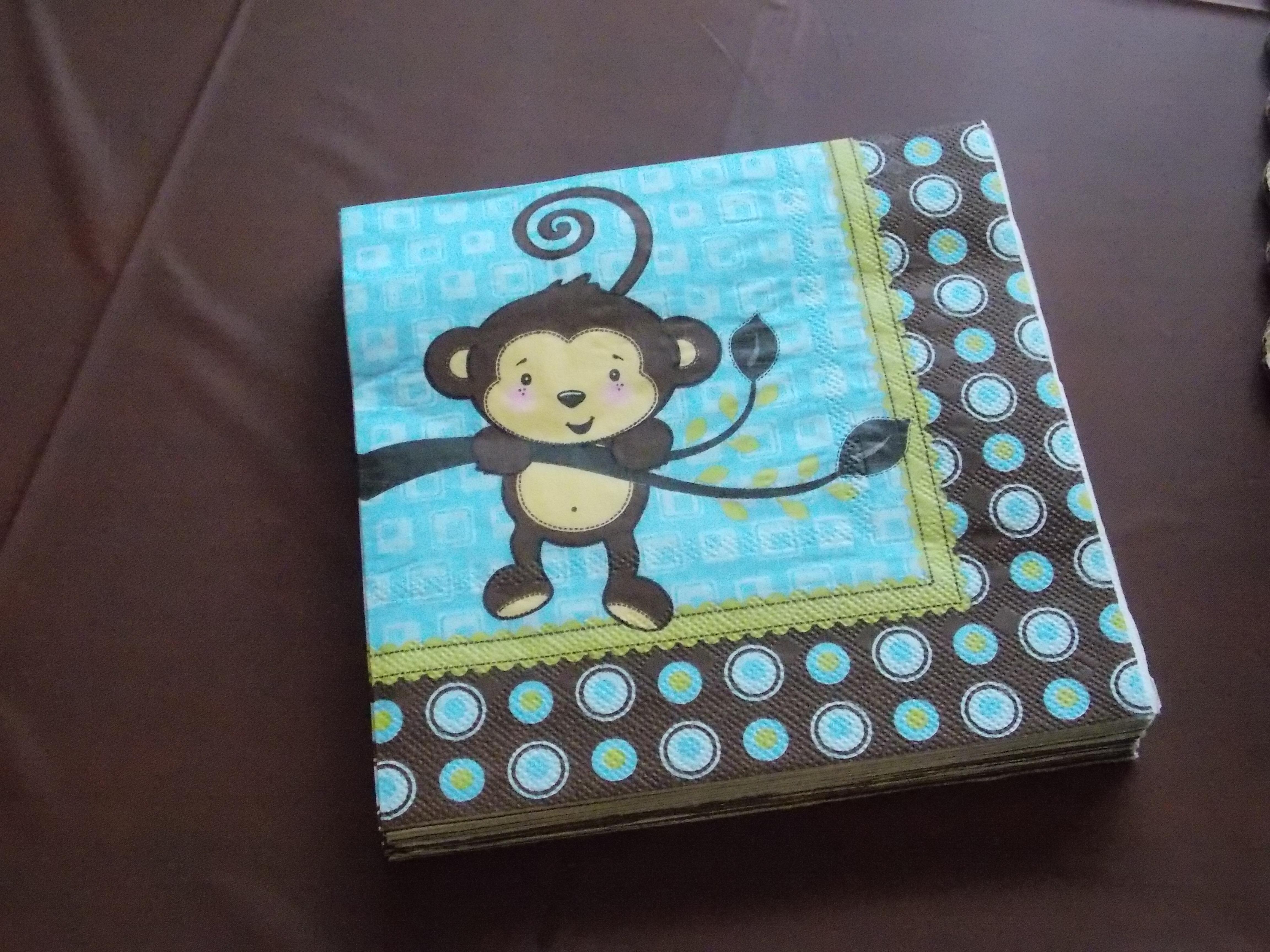 Gavan s Little Monkey Baby Shower