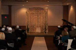 chuppah, jewish wedding, michael's on east, purple wedding, sarasota fl