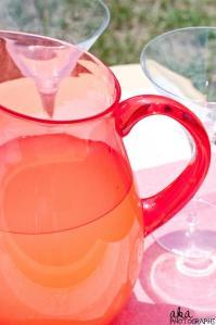 summer parties, lemonade, wedding planning
