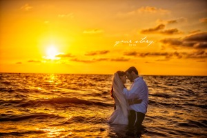 jewish weddings, beach wedding, tampa wedding, sunset wedding, grand hyatt tampa bay weddings