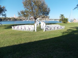 st pete weddings, st pete museum of history weddings, green wedding, purple wedding, waterside wedding, florida weddings, military weddings